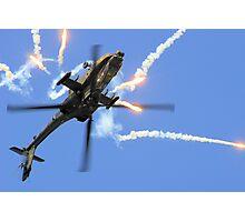 AH64 Apache Photographic Print
