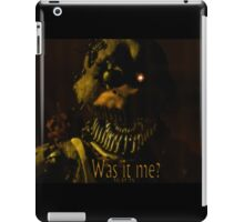 Was It Me? (Chica FNAF 4) iPad Case/Skin