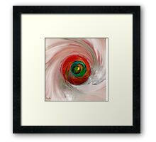 FOR YOUR EYES ONLY- Abstract Art + Products Design  Framed Print