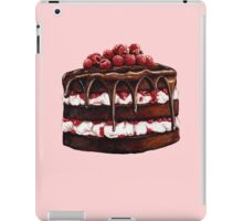Chocolate Raspberry Cake iPad Case/Skin
