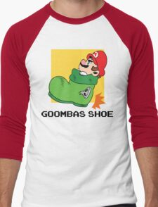Super Mario - Goomba's Shoe Men's Baseball ¾ T-Shirt
