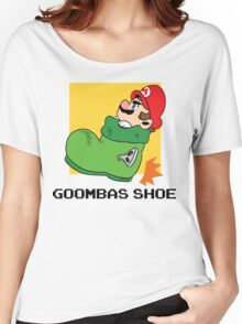 Super Mario - Goomba's Shoe Women's Relaxed Fit T-Shirt