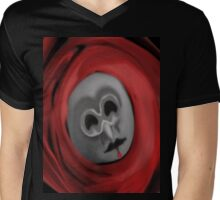 blood mask Mens V-Neck T-Shirt