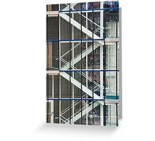 Garage Stairs Greeting Card