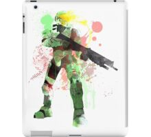Master Chief, Halo Art Print iPad Case/Skin
