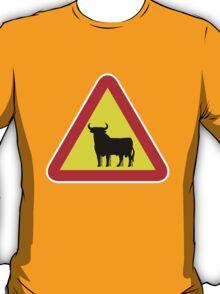 """Danger! """"Toro"""" T-Shirt"""