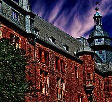 Romrod Castle Germany Fine Art Print by stockfineart
