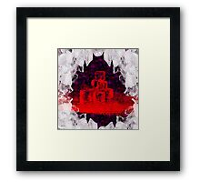 Break The Ice Abstract   Art + Products Design  Framed Print