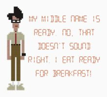 The IT Crowd – I Eat Ready for Breakfast by PonchTheOwl