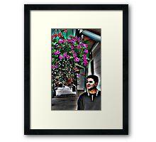 Flower Love Framed Print