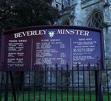 Beverley Minster, Yorkshire, England by Bev Pascoe