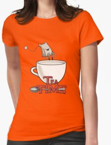 Tea Time! Womens Fitted T-Shirt