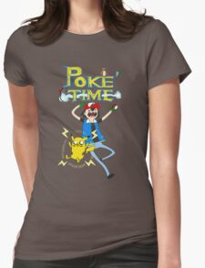 Poketime! Womens Fitted T-Shirt