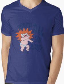 Finn The Human. Mens V-Neck T-Shirt
