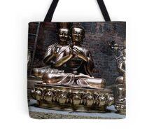 metal masters. patan, nepal Tote Bag