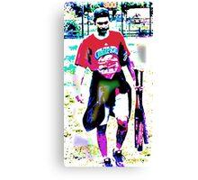 Lavendar Legs Canvas Print
