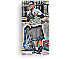 Little Blur Canvas Print