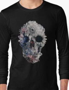 Floral Skull 2 Long Sleeve T-Shirt