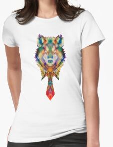 Corporate Wolf Womens Fitted T-Shirt
