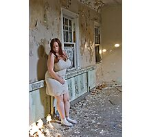Abandoned Self Portrait Photographic Print