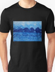 Blue Ridge original painting Unisex T-Shirt