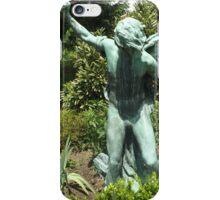Statue, Queens Botanical Garden, Flushing, New York iPhone Case/Skin