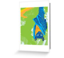 Fruit Bat Greeting Card