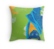 Fruit Bat Throw Pillow