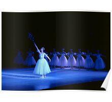 Ballet dancers performing Swan Lake Poster