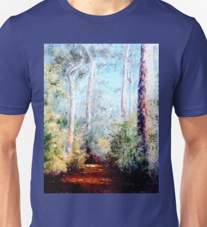 Bush Trail at the noon... Unisex T-Shirt