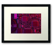 Electronic Technology Framed Print