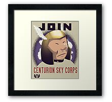 Centurion Sky Corps Framed Print