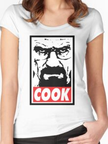COOK Women's Fitted Scoop T-Shirt