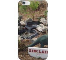 Model Sinclair/Dinoland, Replica of 1964/1965 New York World's Fair, Queens Botanical Garden, Flushing, New York iPhone Case/Skin