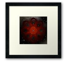 Space Time 211 Framed Print