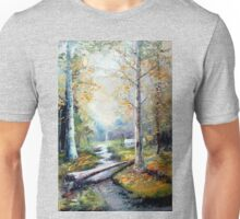 Leaving the Woodland Creek Unisex T-Shirt