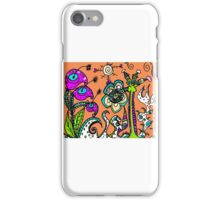 A Blustery Day in Mo's Garden iPhone Case/Skin