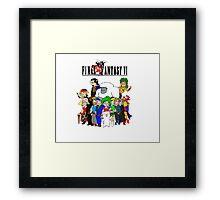 Final Fantasy 6 Characters Framed Print