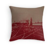 Tracks 1 Throw Pillow