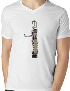 Armor and the Rose Mens V-Neck T-Shirt