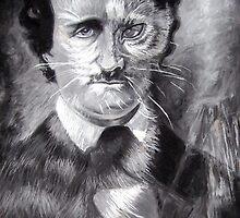 Edgar Allan Poe, The Black Cat by Cameron Hampton