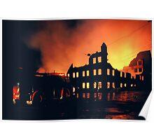 Rachael Foster hospital fire Poster