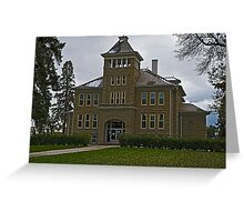 Teton County Court House Greeting Card