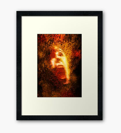 Too Bad About The Fire Framed Print