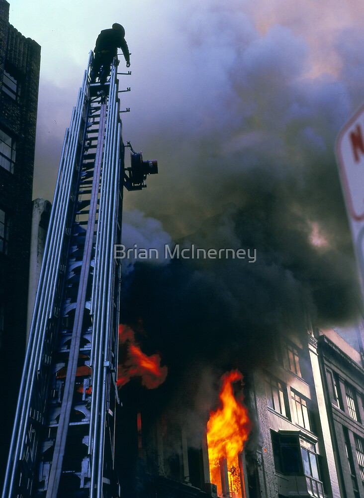 Major Sydney fire by Brian McInerney