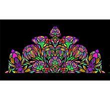 Floral Design 2 Photographic Print