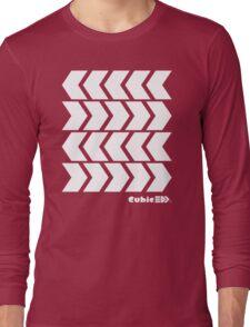 Inkling's Arrowed Red Shirt - Splatoon Long Sleeve T-Shirt
