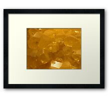The Hidden Land - Fire and Brimstone Framed Print