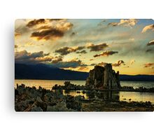 Evening on Mono Lake Canvas Print