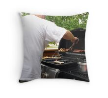 Master Chef Throw Pillow
